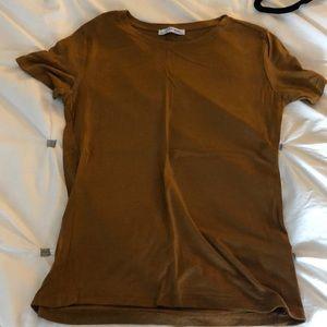 Zara Gold T Shirt